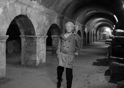 César incognito, Cryptoportiques d'Arles | juin 2018